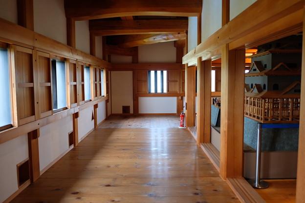 大洲城の廊下
