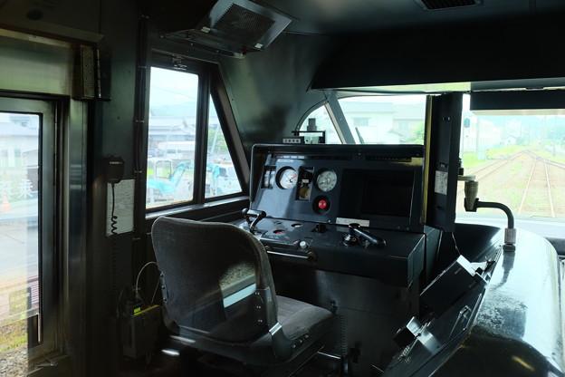 いしづち号の運転室
