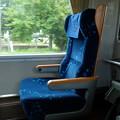 いしづち号のグリーン車の座席
