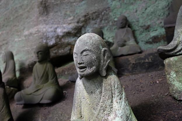 日本寺の羅漢