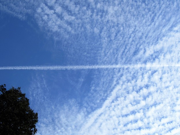 27.11.21飛行機雲