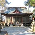 写真: 27.12.17東宮神社拝殿