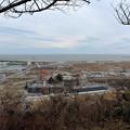 Photos: 28.2.15日和山から望む南浜町・門脇町方面