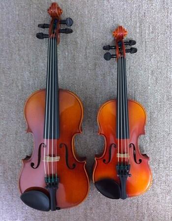 中野・江古田 バイオリン 個人レッスン ヴィオラ 吉瀬弥恵子 ワイズ音楽教室 分数楽器の替え時