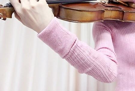 中野・江古田 バイオリン 個人レッスン ヴィオラ 吉瀬弥恵子 ワイズ音楽教室 バランスの1点を見つける