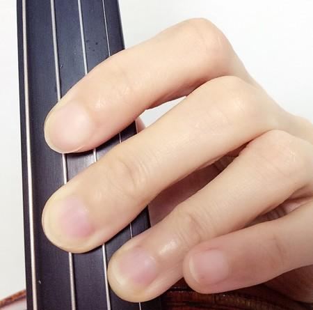 中野・江古田 バイオリン 個人レッスン ヴィオラ 吉瀬弥恵子 ワイズ音楽教室 5度の重音の取り方