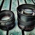 Photos: EF50mmとの比較