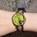 Photos: カエル君の腕時計を腕にしてみた♪