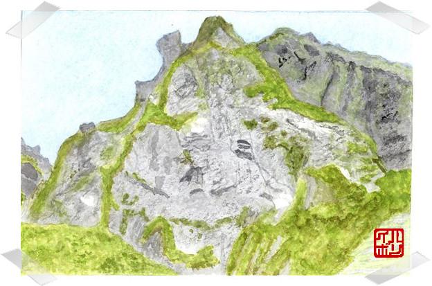 12谷川岳・一の倉沢 衝立岩正面壁