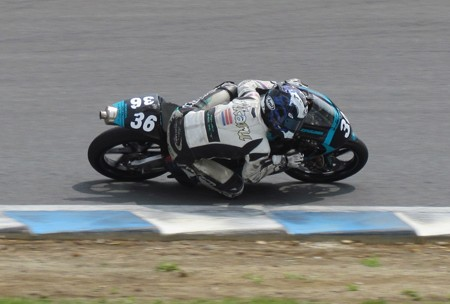 2014 36 吉広光 HONDA NSF250R CLUBNEXT and MOTOBUM MFJ 全日本ロードレース J-GP3 ホンダ SUPERBIKE もてぎ IMG_5814