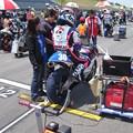 写真: 岡崎静夏 HONDA NSF250R Kohara MFJ 全日本ロードレース J-GP3 SUPERBIKE もてぎ jrr IMG_8012