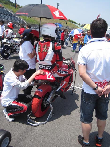 写真: IMG_7954 中山 翔太 HONDA NSF250R クシタニ 西宮  TECHNICA 全日本ロードレース J-GP3 SUPERBIKE もてぎ jrr