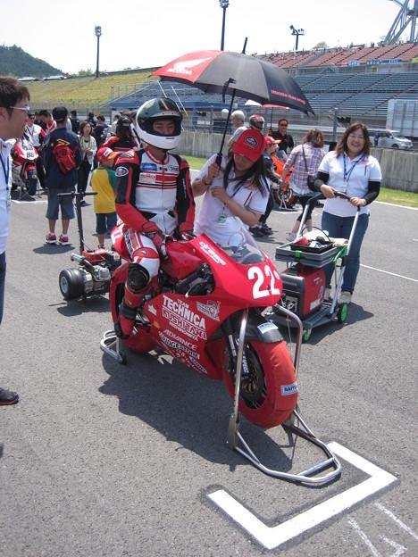 写真: IMG_7953 中山 翔太 HONDA NSF250R クシタニ 西宮  TECHNICA 全日本ロードレース J-GP3 SUPERBIKE もてぎ jrr