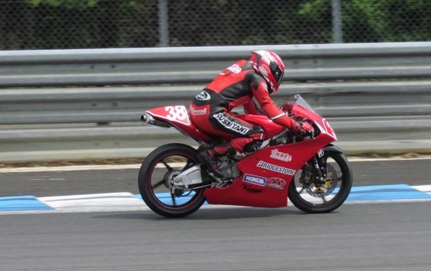 写真: IMG_5774 2014 38 野澤秀典 HONDA NSF250R ノザワレーシングファミリー 全日本ロードレース J_GP3 SUPERBIKE もてぎ jrr
