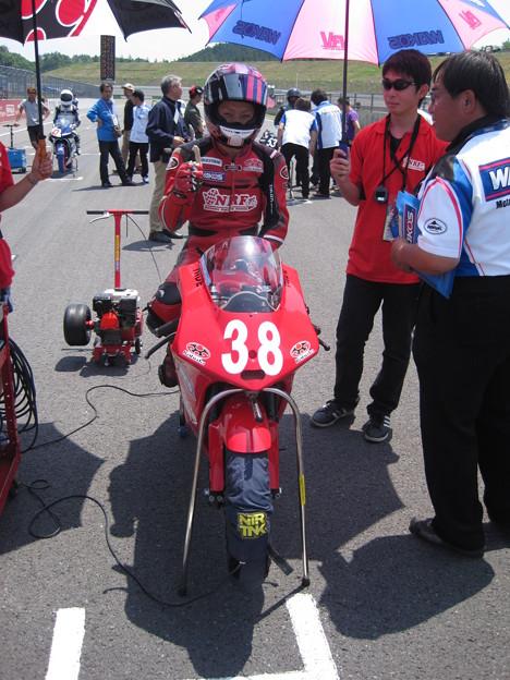 写真: IMG_7992 2014 38 野澤秀典 HONDA NSF250R ノザワレーシングファミリー 全日本ロードレース J_GP3 SUPERBIKE もてぎ jrr