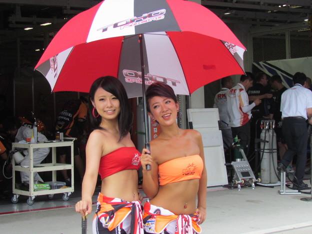 写真: 國川浩道 山口辰也 小林龍太 Honda CBR1000RR 鈴鹿8耐 TOHO MORIWAKI IMG_0537
