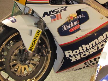 IMG_3937 1989 Rothmans HONDA NSR500 Eddie Lawson ロスマンズ ホ