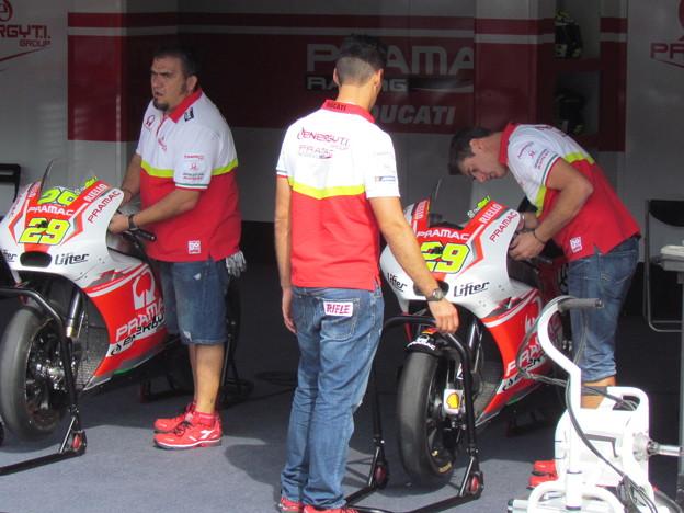 写真: 2 29 Andrea IANNONE Pramac Ducati Japan  motogp motegi もてぎ 2014 IMG_1972