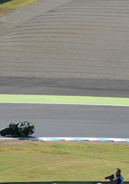 写真: 2 Pol ESPARGARO  Monster Yamaha Tech 3 Yamaha MotoGP もてぎ P1370332