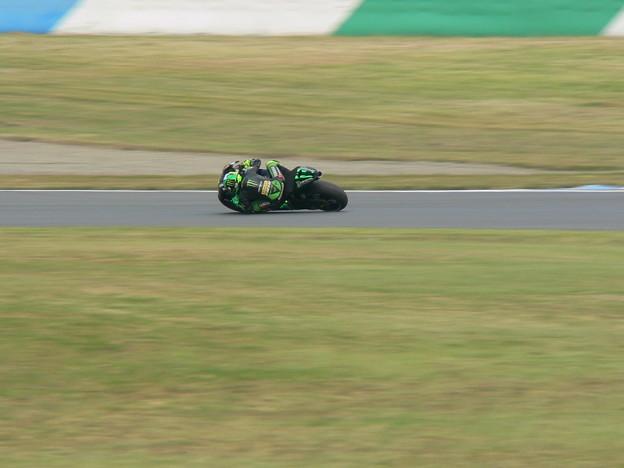 写真: 2 Pol ESPARGARO  Monster Yamaha Tech 3 Yamaha MotoGP もてぎ P1360839
