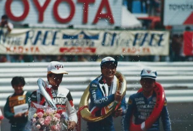 写真: ALL JAPAN ROAD RACE CHAMPIONSHIP 1987 250cc  Masaru Kobayashi