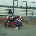 写真: 1987 SUZUKI RGV_Γガンマ XR72 Masaru Mizutani 水谷勝 ウォルターウルフ.jpg