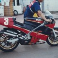 写真: 1987 SUZUKI RGV_Γガンマ XR72 Masaru Mizutani 水谷勝 2