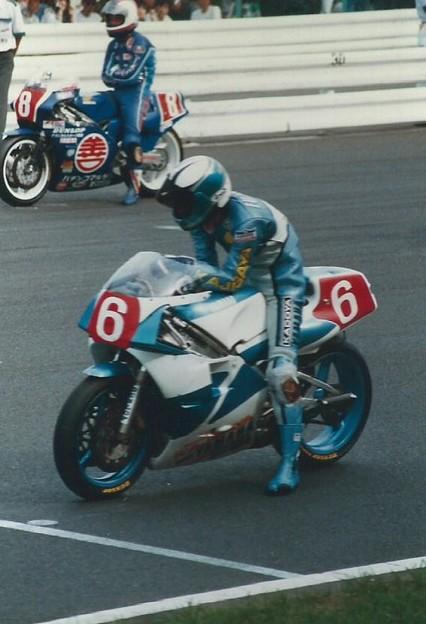 1987 YAMAHA YZR500 藤原儀彦