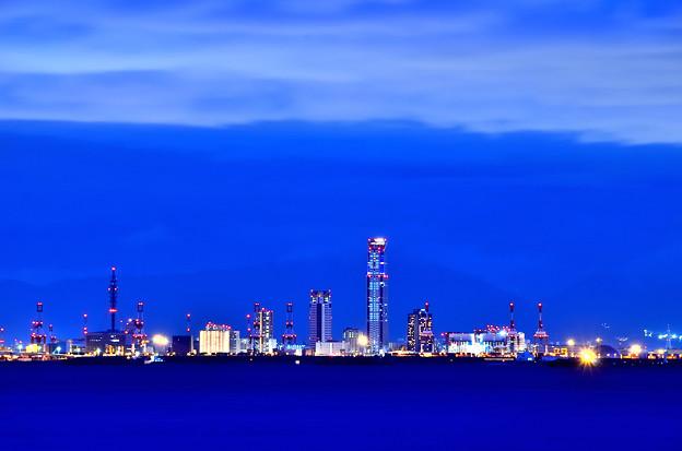 写真: 咲洲夜景